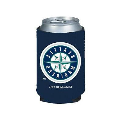 seattle mariners 2 pack can beverage insulator