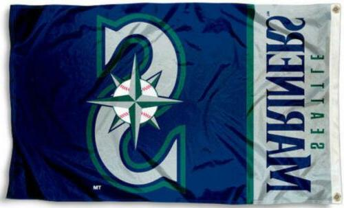 seattle mariners 3x5 flag new 3 x