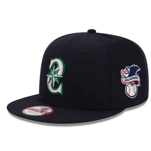 seattle mariners al patch 9fifty mlb retro