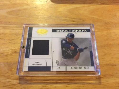 seattle mariners alex rodriguez 2003 fabric of
