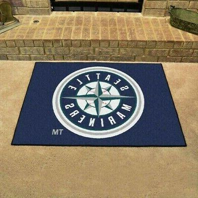 seattle mariners all star tailgating mat or