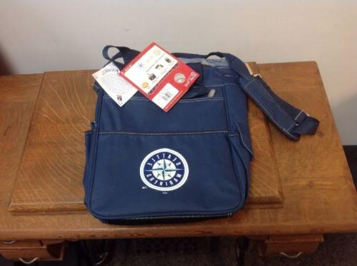 seattle mariners can cooler tote blue