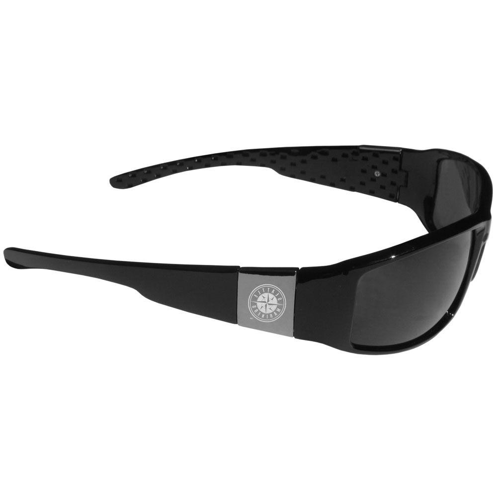 seattle mariners chrome wrap sunglasses