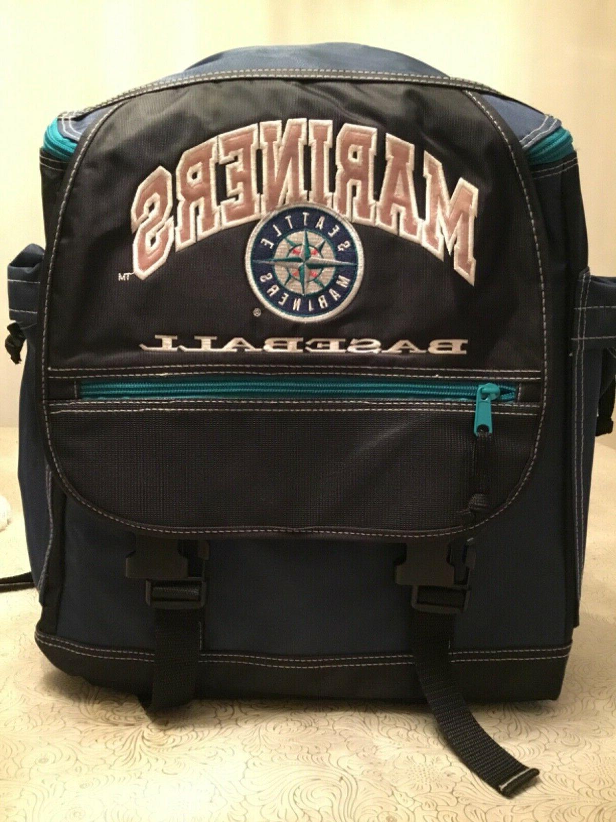 seattle mariners genuine merchandise mlb sports backpack