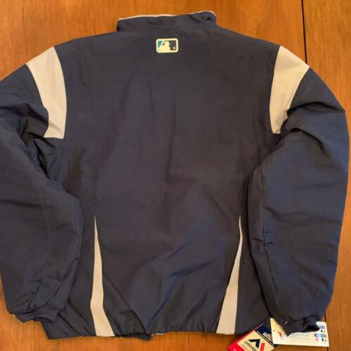 Majestic Mariners Jacket Therma Base Navy Baseball Size: NWT