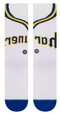 Seattle Mariners Stance MLB 1980 Home Jersey Crew Socks Larg