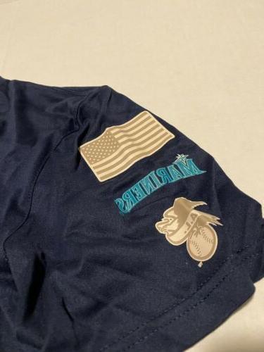 Nike Seattle Mariners MENS MEMORIAL SHIRT Size: