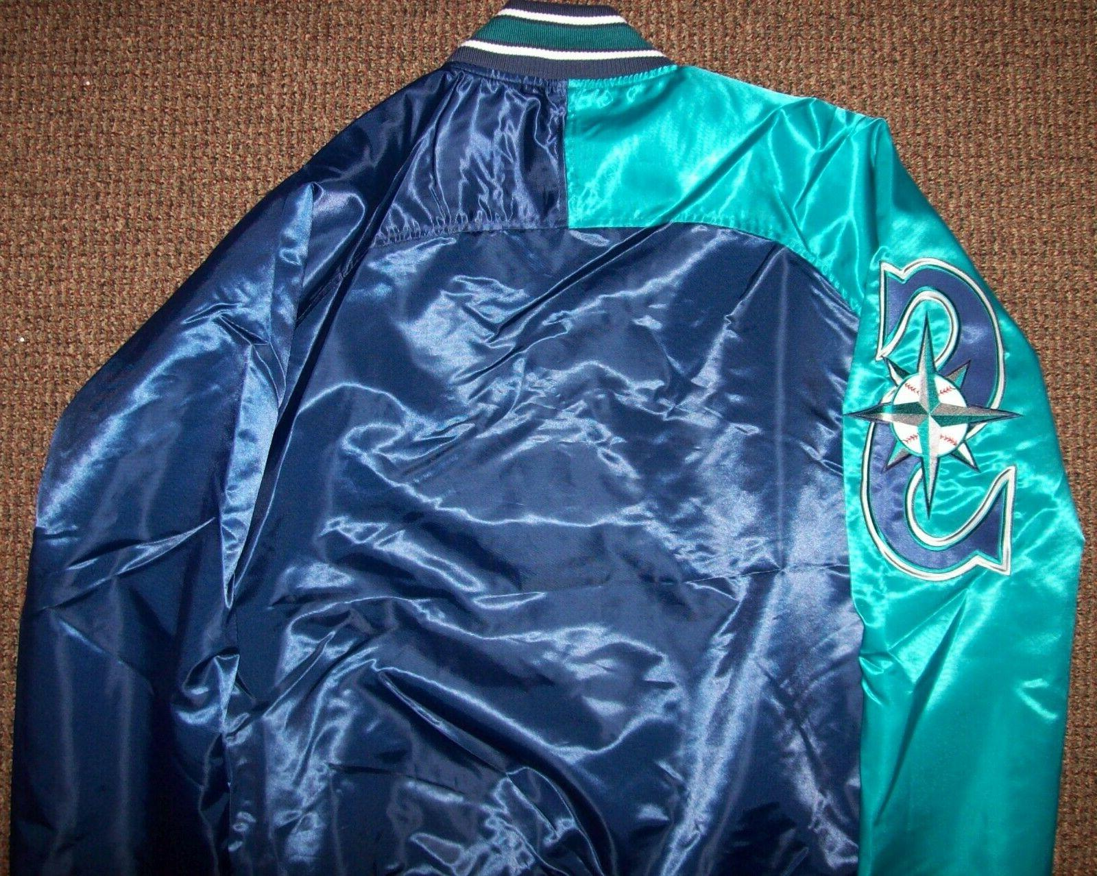 SEATTLE MARINERS STARTER Jacket Sping/Summer BLUE/AQUA