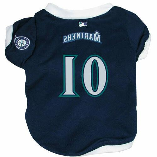seattle mariners officially licensed dog jersey free