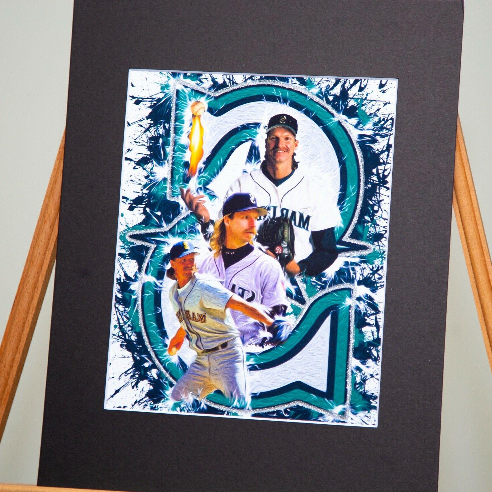 Seattle - Randy Johnson #51 The Big Artwork