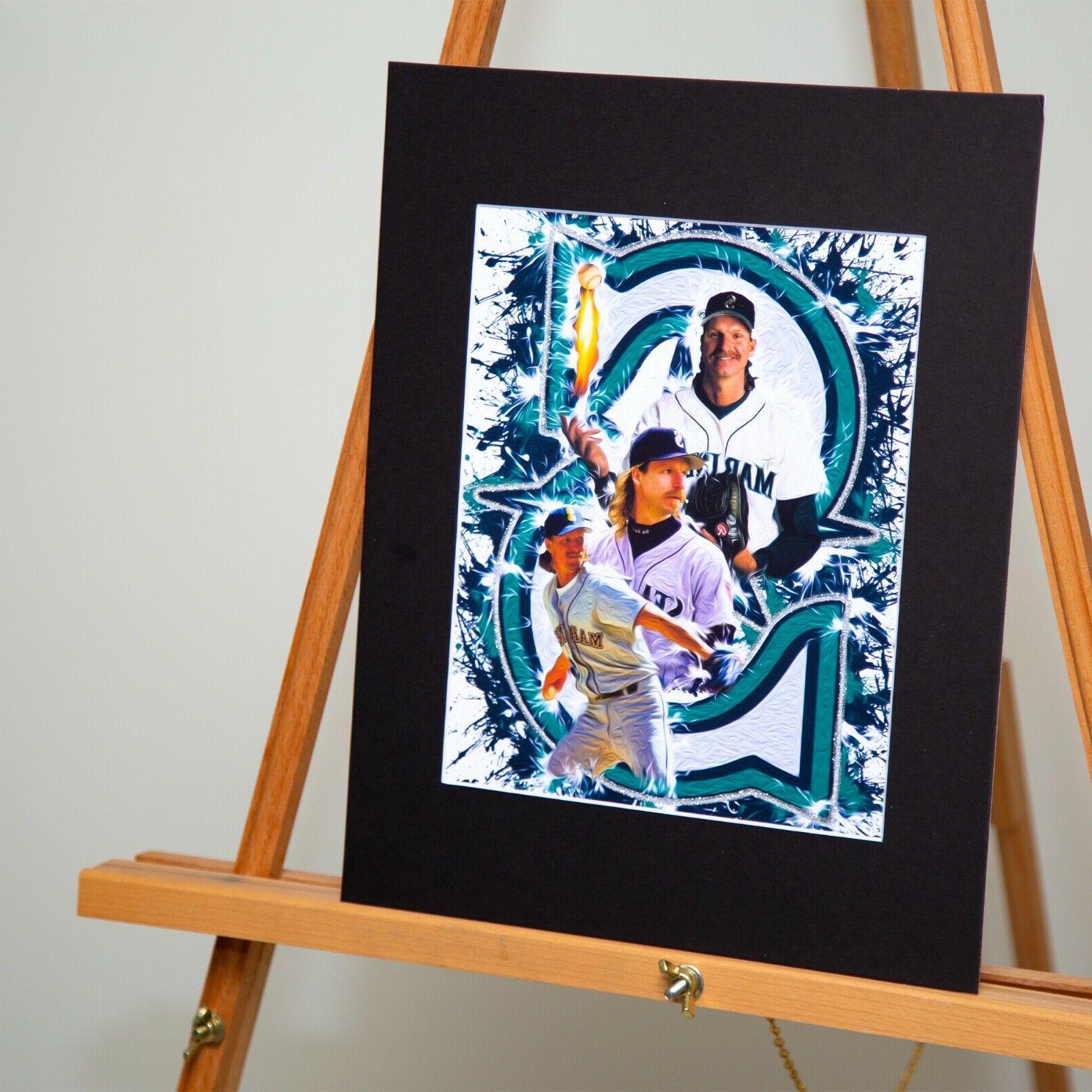 Seattle Mariners Johnson #51 - The Big Original Artwork