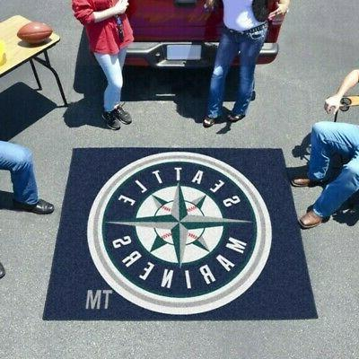 seattle mariners tailgater rug or mat