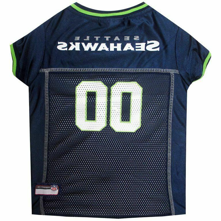 seattle seahawks officially licensed dog nfl jersey