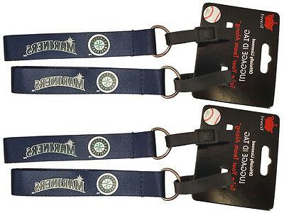 set of 4 seattle mariners officially licensed