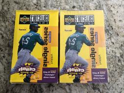Lot Of 2 1995 Collector's Choice Baseball Hobby Boxes 1 Fa