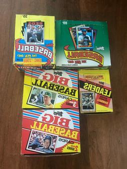 LOT of  1986 1987 1988 1990 BASEBALL TOPPS PACKS UNOPENED