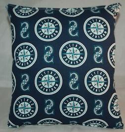 Mariners Pillow Seattle Mariners Pillow MLB Handmade in USA