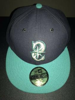 Men's New Era Seattle Mariners Navy Blue/Teal MLB Baseball