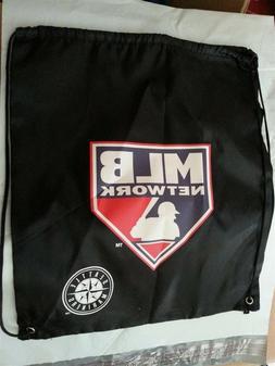 MLB Network Drawstring BackPack Bag Dark Blue Seattle Marine