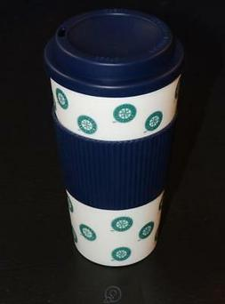 MLB Seattle Mariners 16 Oz Plastic Tumbler Travel Cup Hot/Co