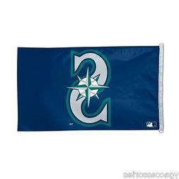 MLB Seattle Mariners 3' X 5' Flag /Banner  Indoor /Outdoor w