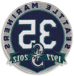 MLB Seattle Mariners 35th Anniversary Collectible Patch