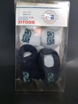 mlb seattle mariners baby bootie socks infant