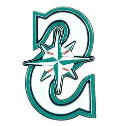 mlb seattle mariners diecast 3d color emblem