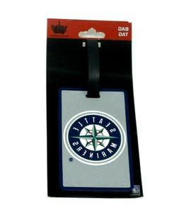 MLB Seattle Mariners Luggage Tag Travel Bag ID Golf Tag FREE