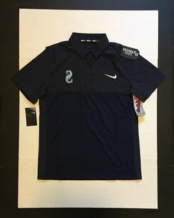 Nike MLB Seattle Mariners Polo Shirt 875894 Mens Size M