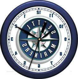 MLB Seattle Mariners Wall Clock