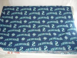 MLB Seattle Mariners Yardage NOS, 8+ yards Fabric~Tablecloth