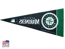 "Seattle Mariners MLB Mini Pennant 9""x4"",New, Felt, Made in U"
