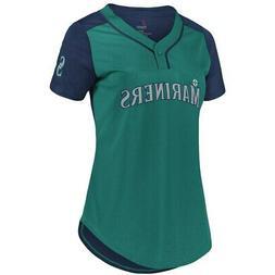 New MLB Seattle Mariners Majestic Women's Cool Base T-Shirt