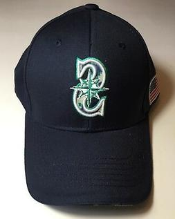 New Seattle Mariners Baseball Hat Cap Camouflage Bill with A