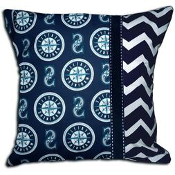 NEW Seattle Mariners MLB Baseball Decorative Throw Pillow