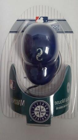 New Seattle Mariners MLB Cap Hat Computer USB Optical PC Mou