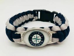 **NEW** SEATTLE MARINERS  MLB Team Logo Paracord Survivor Br