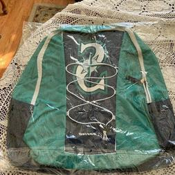 NEW SEATTLE MARINERS TEAL AND BLUE BACK PACK SGA