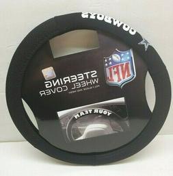 NFL POLY-SUEDE MESH STEERING WHEEL COVER DALLAS COWBOYS