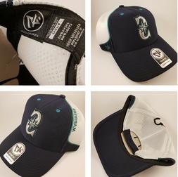 NWT Seattle Mariners 47 Hat Cap OSFA Adult Men MLB Baseball
