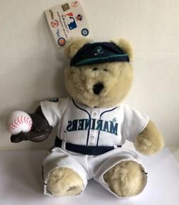 nwt seattle mariners mlb baseball bear 1st