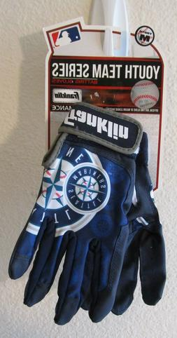 NWT Franklin Youth Team Series Seattle Mariners Batting Glov