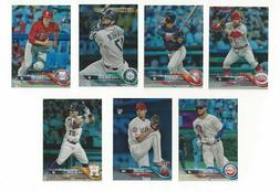 Rainbow Foil Parallel #351-#540 Complete Your Set 2018 Topps