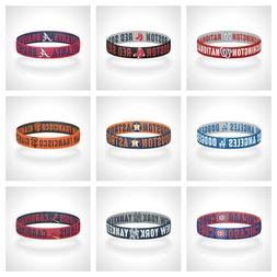 Reversible MLB Teams Bracelet Elastic Stretch Bracelet MLB W