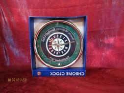 WinCraft Seattle Mariners 12 Inch Baseball Club Chrome Wall
