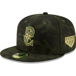 Seattle Mariners New Era 2019 Armed Forces Day On-Field 59FI