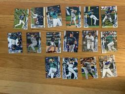 Seattle Mariners 2020 Topps Factory Team Set 16 Cards Rookie