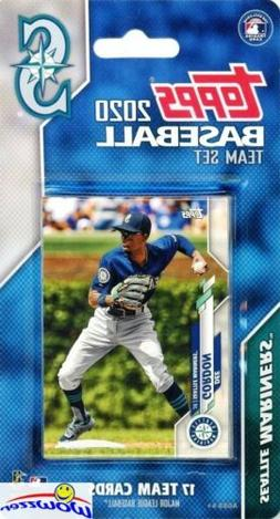 Seattle Mariners 2020 Topps Limited Edition 17 Card Team Set