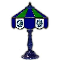 Seattle Mariners 21'' Glass Table Lamp